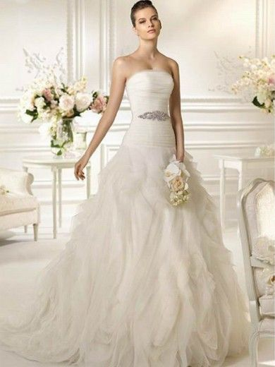 Organza Wedding Dresses - love the dress but w/o the accent