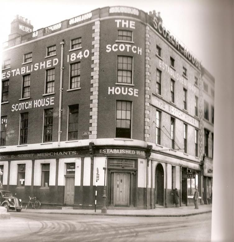 The Old Scotch House On Burgh Quay Corner Of Hawkins