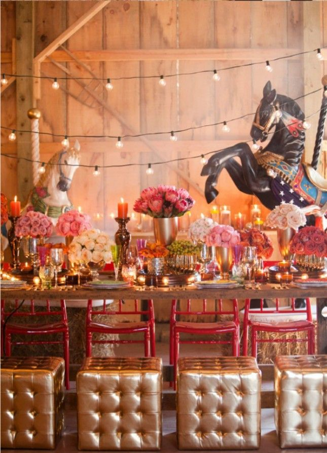 Themed weddings and Circus wedding