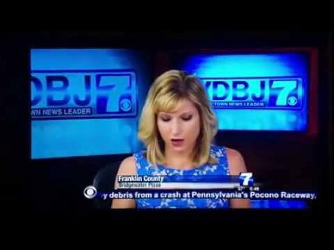 Matan a reportera y camarografo en vivo