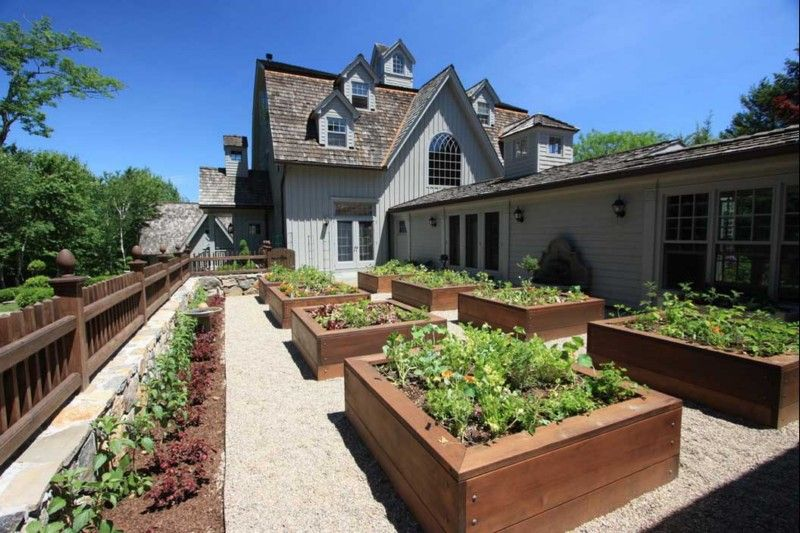 20 Raised Bed Garden Designs And Beautiful Backyard Landscaping Ideas   Raised  Bed, Landscaping Ideas And Raising
