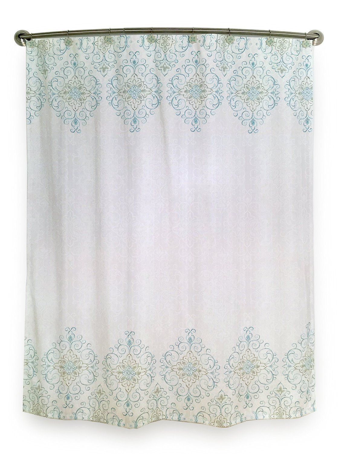 Amazon Cortinas Baño Amazon Lenox French Perle Groove Shower Curtain Home
