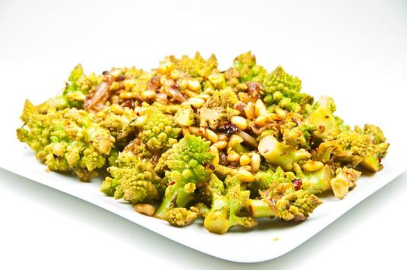 how to cook romanesco cauliflower