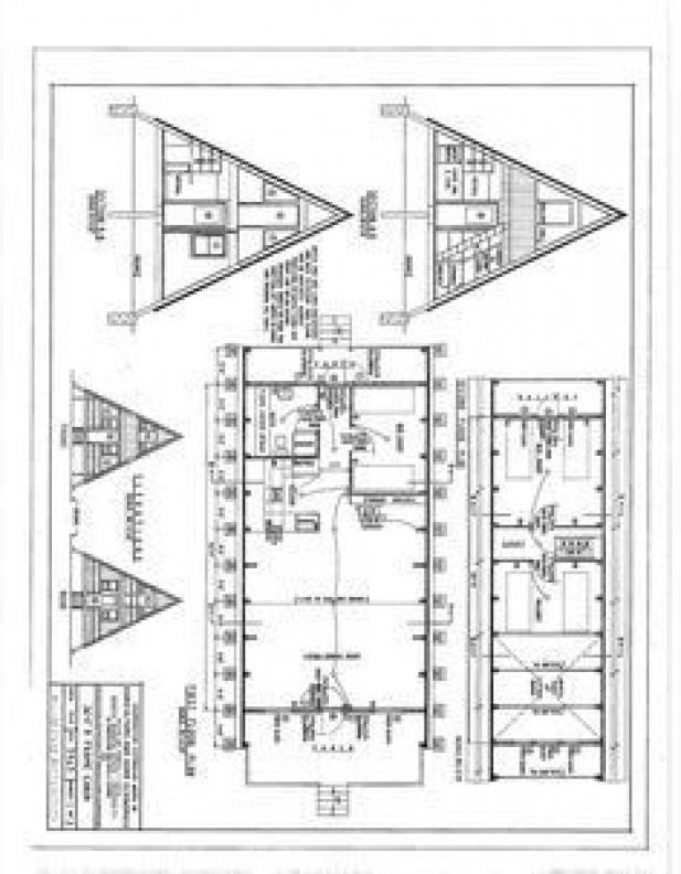 Popsugar A Frame House Plans A Frame Cabin Plans A Frame House