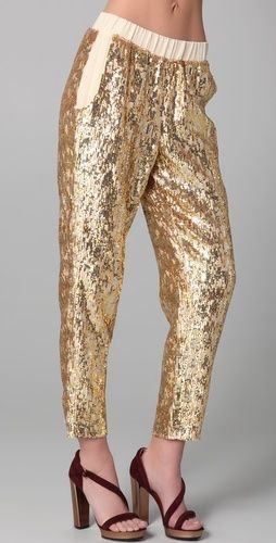 Pencey Sequined Pants - StyleSays