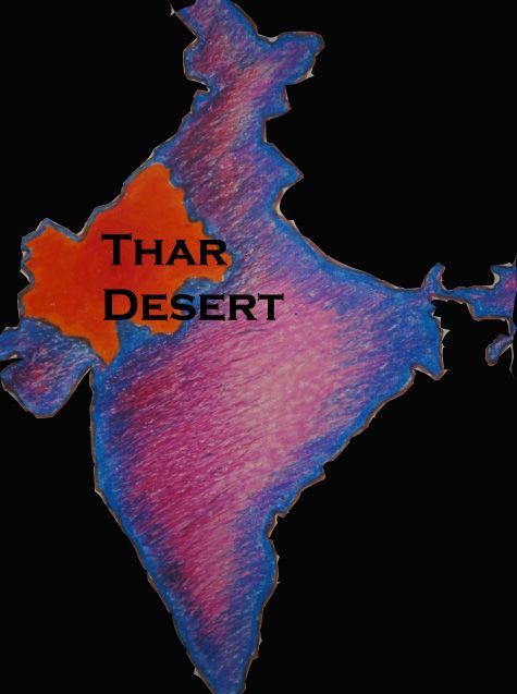 thar desert on map of india Locate Thar Desert On The Map Of India Google Search Desert thar desert on map of india