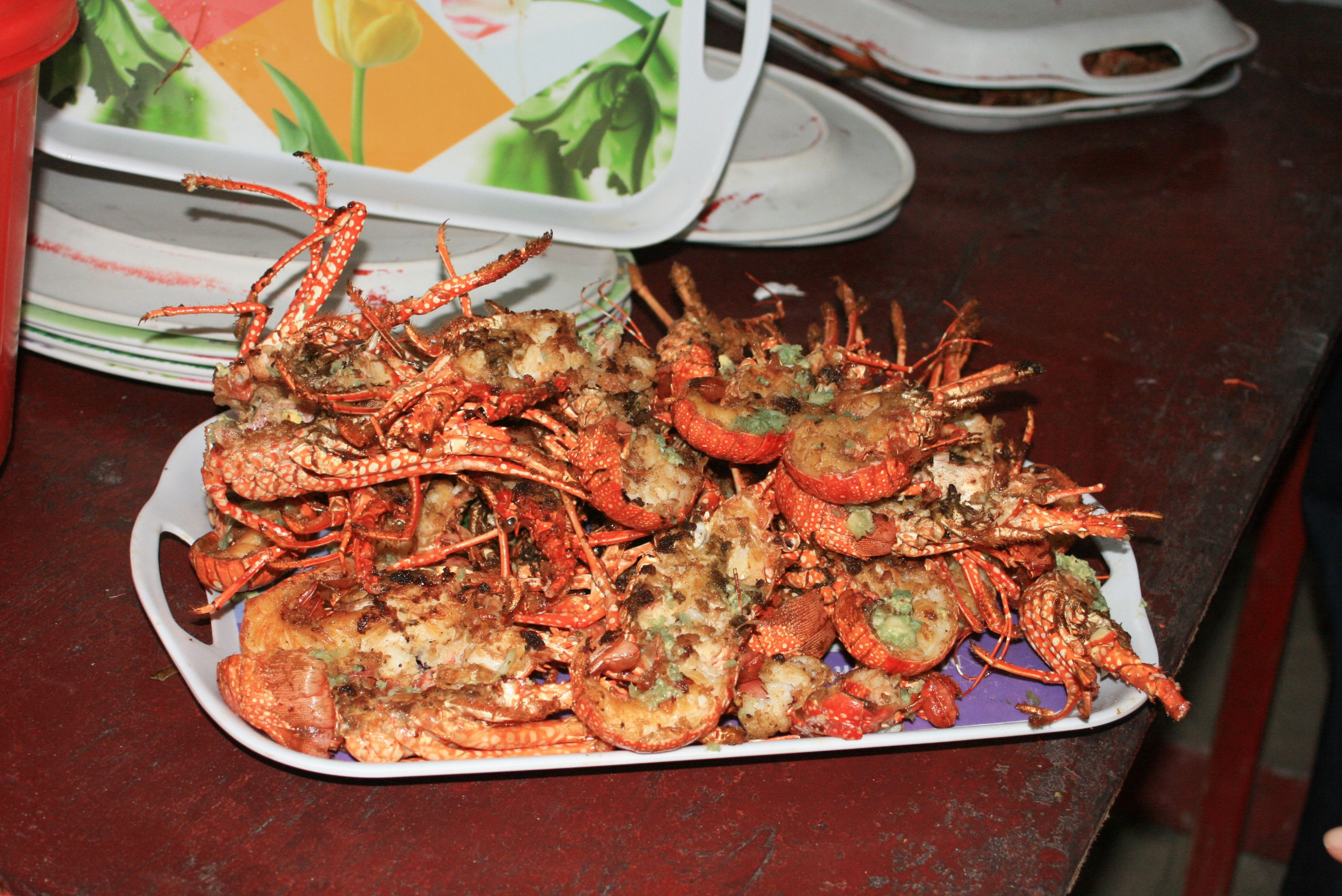 grilled buttered lobster hellshire beach st catherine jamaica my favorite place. Black Bedroom Furniture Sets. Home Design Ideas