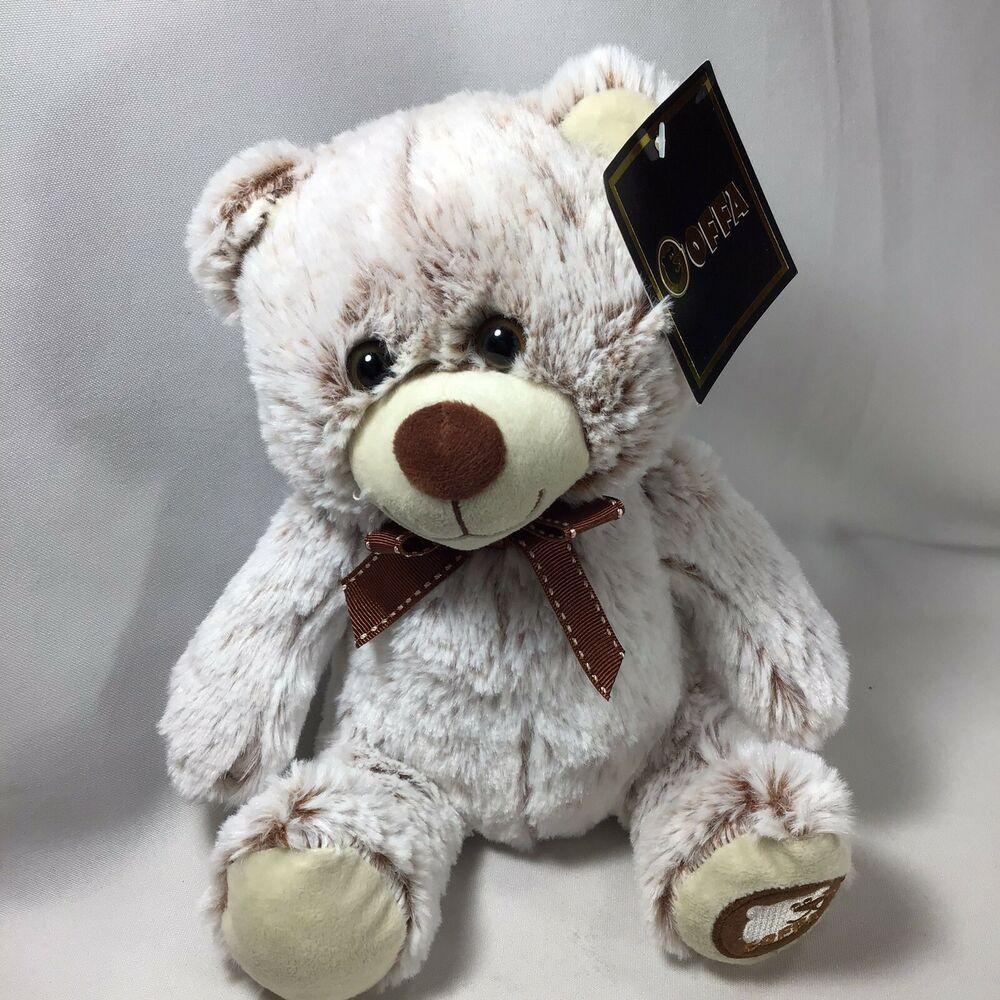 Bear Goffa Brown Bow 10 Soft Plush Sitting Goffatoycompany Animated Plush Teddy Bear Stuffed Animal Animal Plush Toys [ 1000 x 1000 Pixel ]