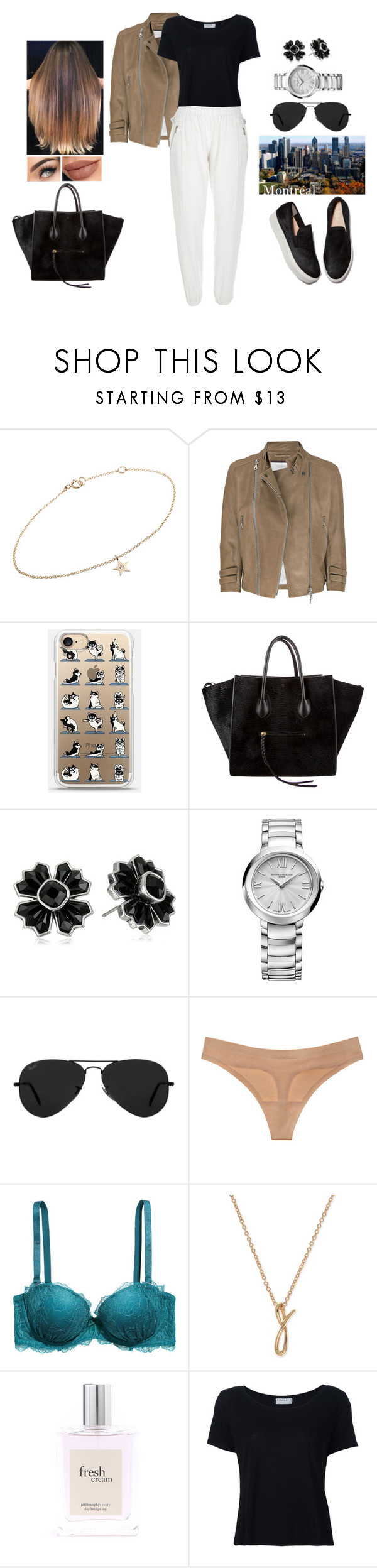 """""""Travelling to Montreal, Canada 🇨🇦"""" by teodoramaria98 ❤ liked on Polyvore featuring Minor Obsessions, McQ by Alexander McQueen, CÉLINE, Marc Jacobs, Baume & Mercier, Ray-Ban, Victoria's Secret, H&M, Anne Klein and philosophy"""