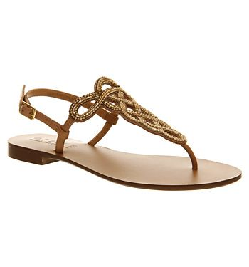 5771bc9a34b7 Office Hareem Camel Leather - Sandals