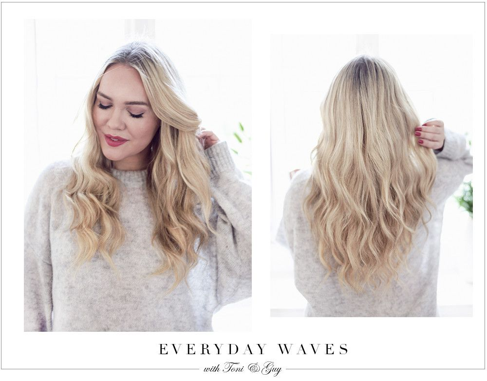 Everyday Waves With Toni Guy Cath In The City Makeup