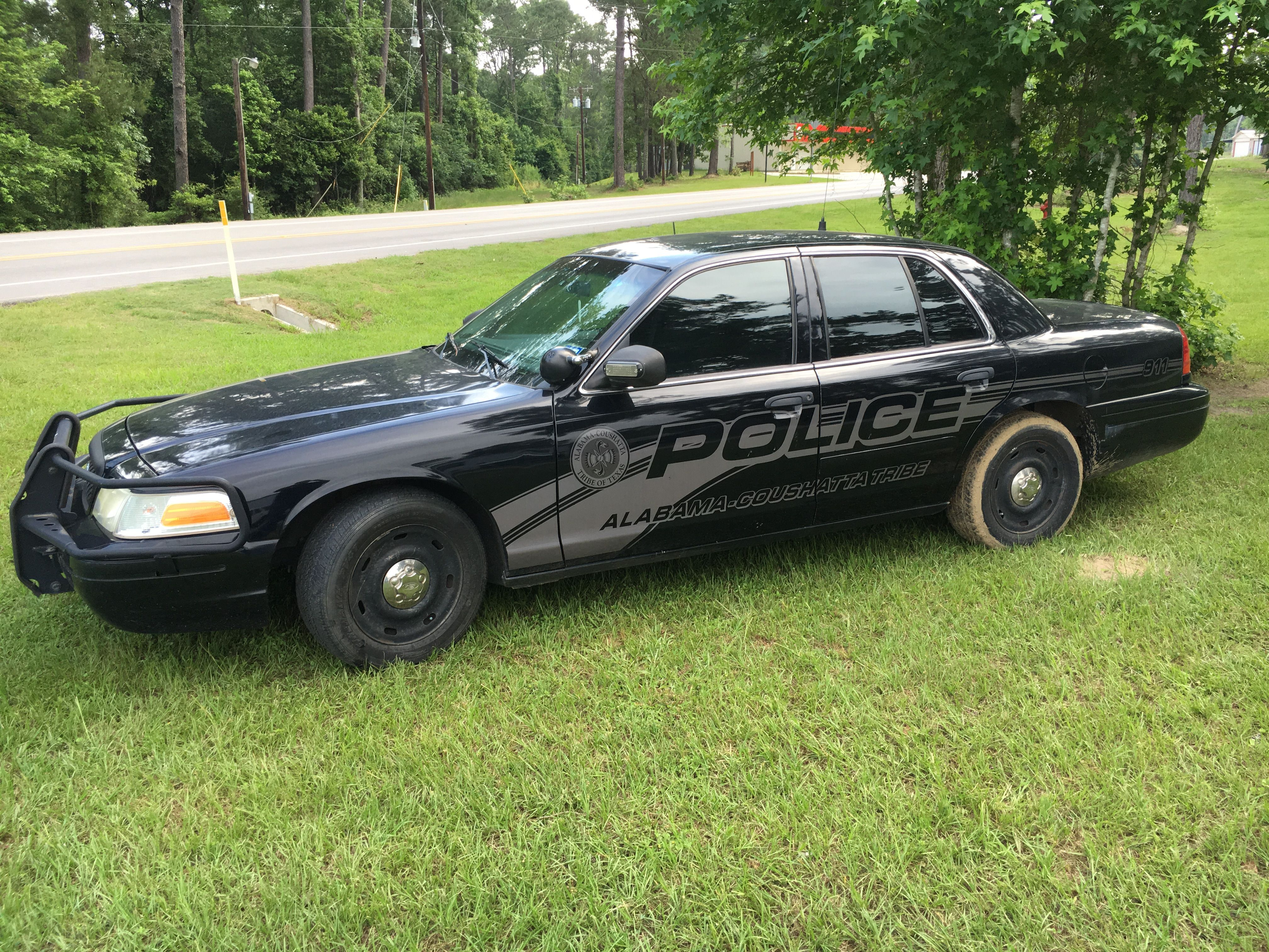 Alabama coushatta tribal police dept ghost ford crown victoria