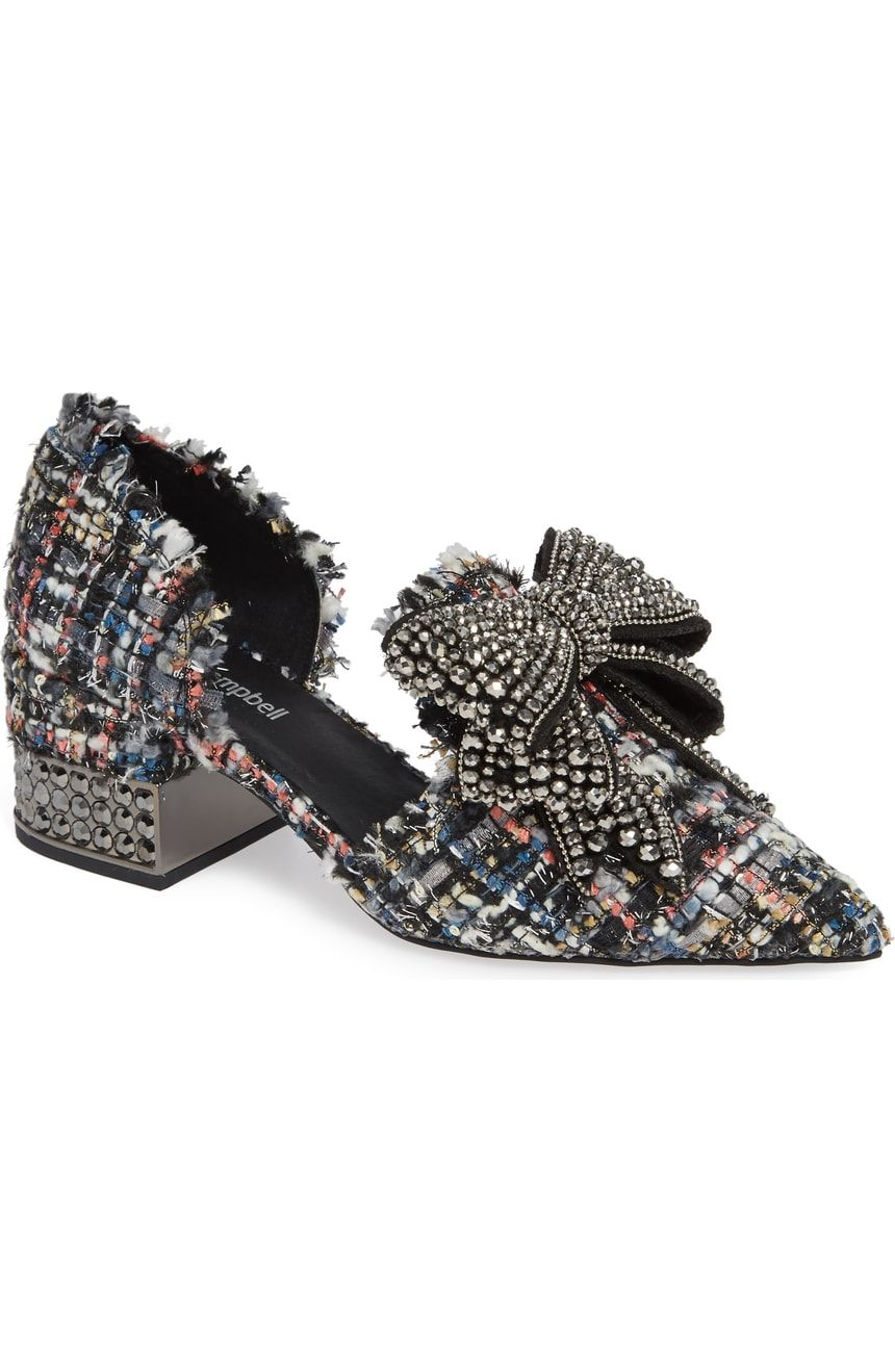 3dba0041888 Jeffrey Campbell Valenti Embellished Bow Loafer (Women)