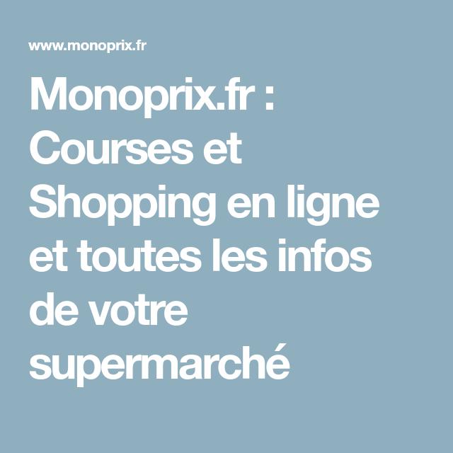 537d9e466 Monoprix.fr : Courses et Shopping en ligne et toutes les infos de ...