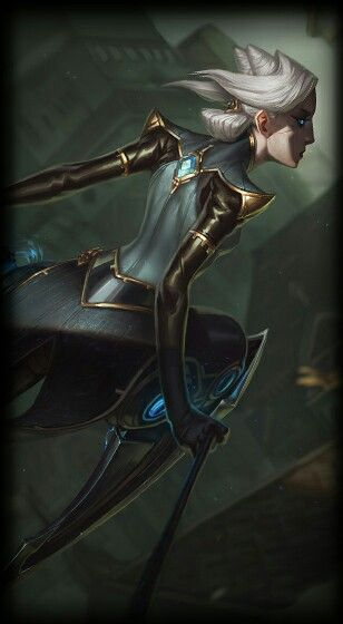 League Of Legends Camille The Steel Shadow Outfit Drawings