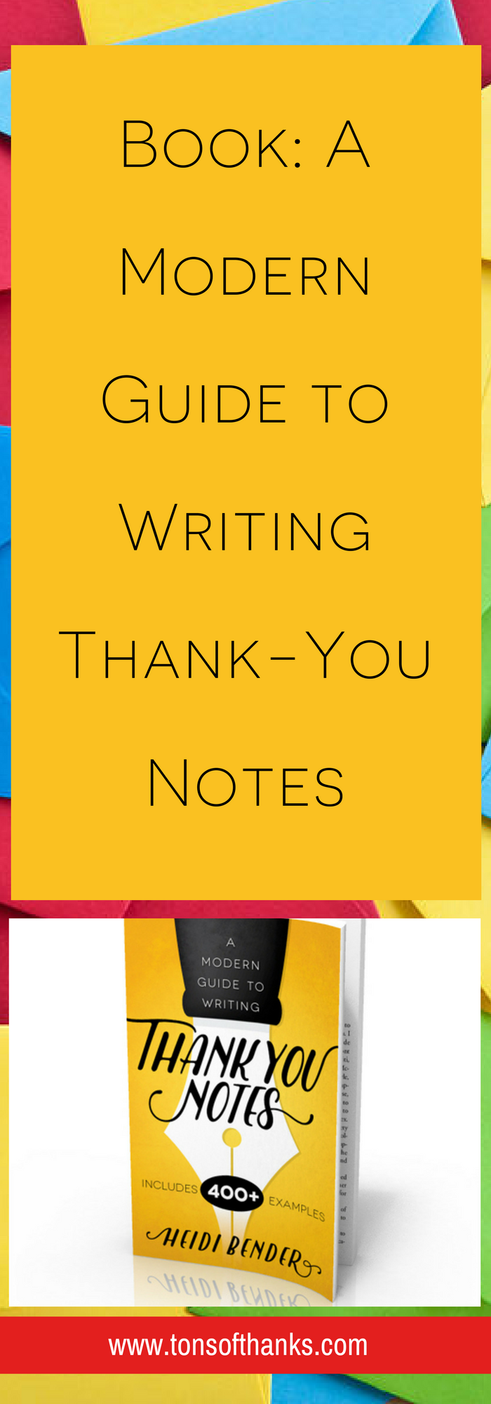 A Modern Guide To Writing ThankYou Notes Is Packed With Over