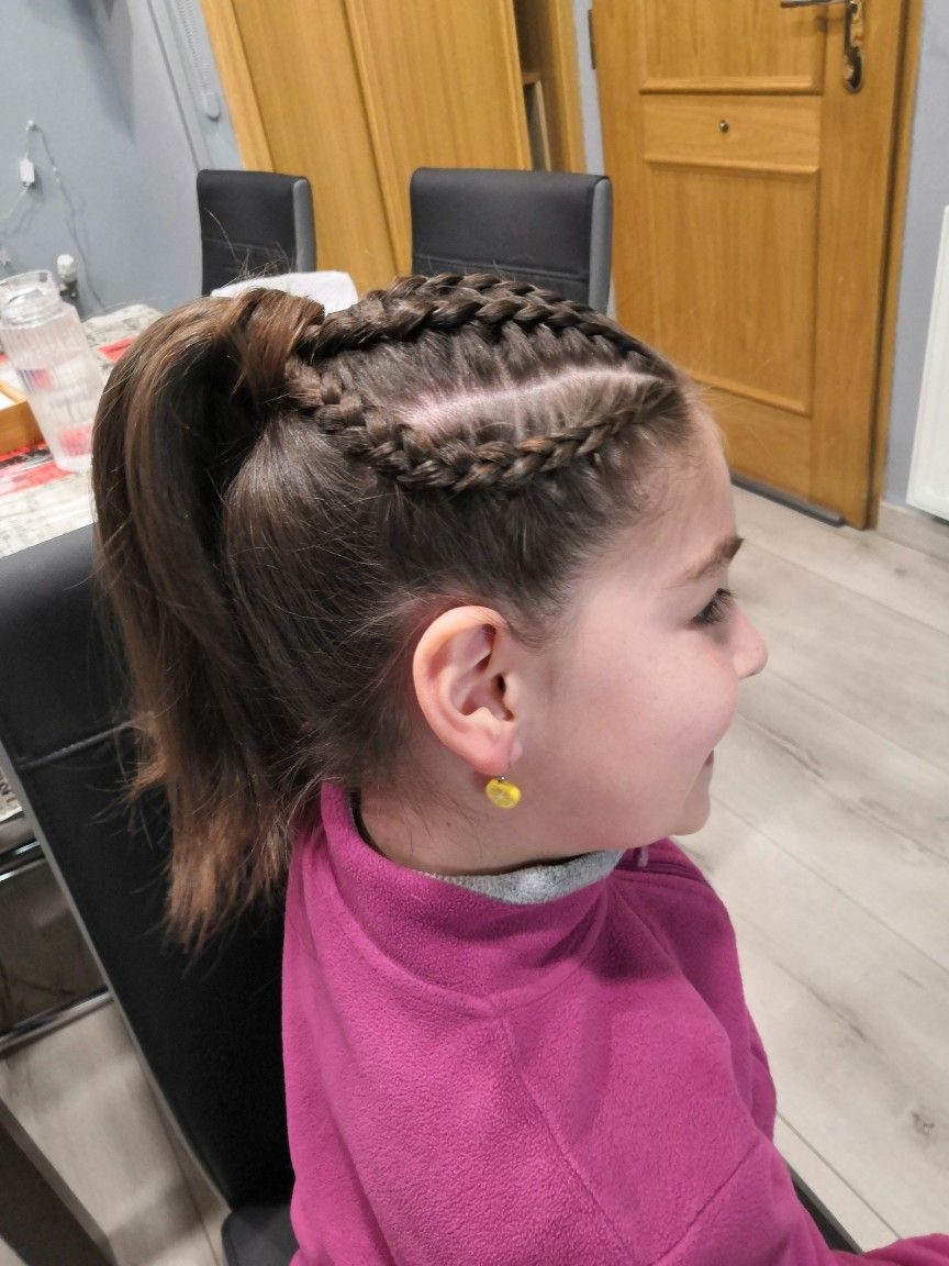 Trenzando Trenza De Raiz Coleta Alta Peinados