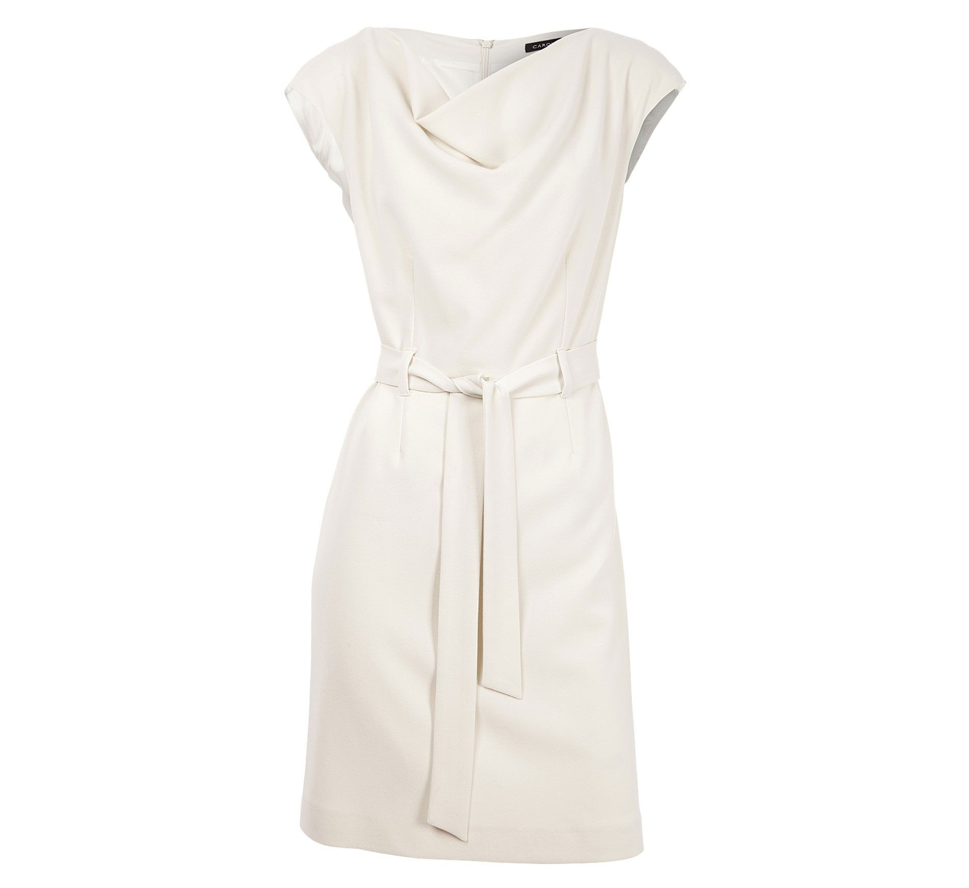 55bbaa37c39a0 caroll robe blanche   vêtement   Pinterest   Robe et Shopping