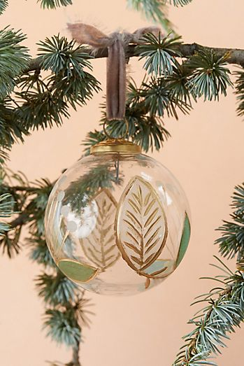 Christmas Ornaments Holiday Decor Anthropologie Globe Ornament Pottery Barn Christmas Christmas Ornaments