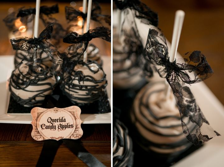 Elegant Halloween Inspired Engagement Party Ideas   Engagement ...