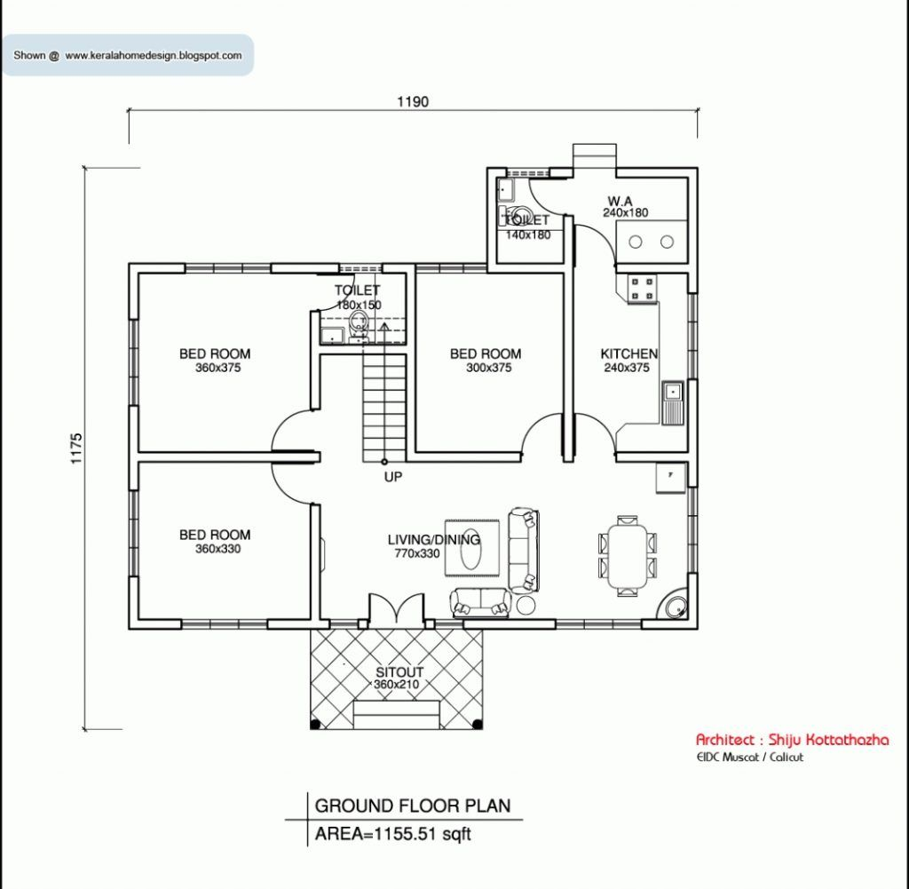 Floor Plans Of Houses New Home Floor Plans Adchoices Co Kerala House Design Simple House Plans House Construction Plan