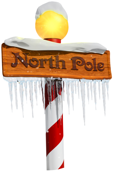North Pole Sign Png Clipart North Pole Sign Christmas Scrapbook North Pole Pictures