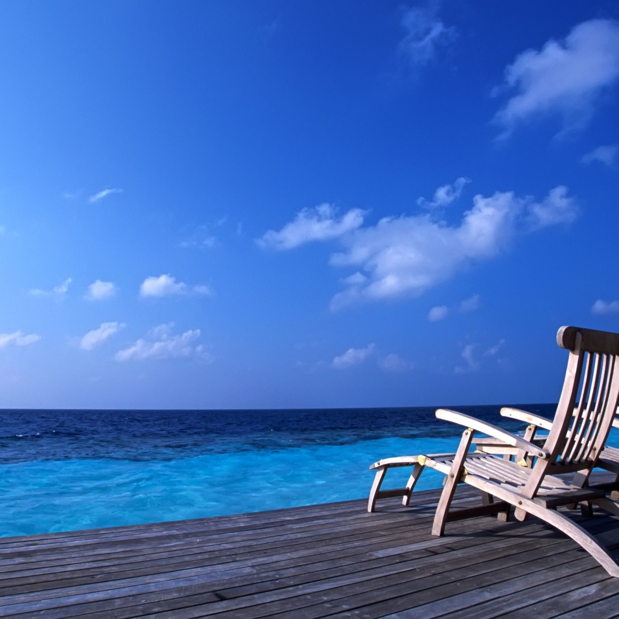 Blue, Maldives, Wallpaper - Wallpapers Feed