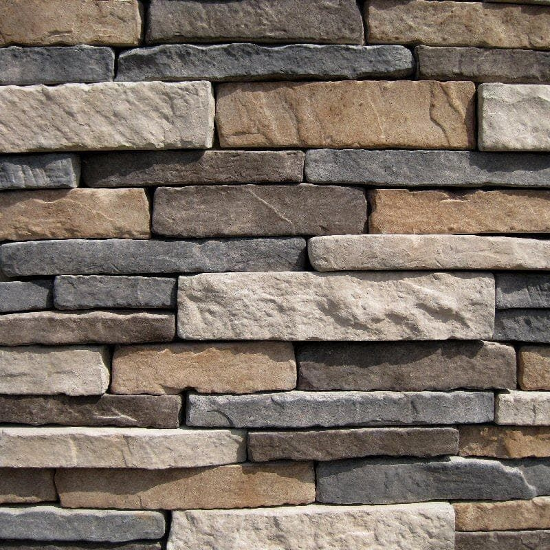 BuildDirect®: Black Bear Stone Veneer - Stacked Stone - Ozark
