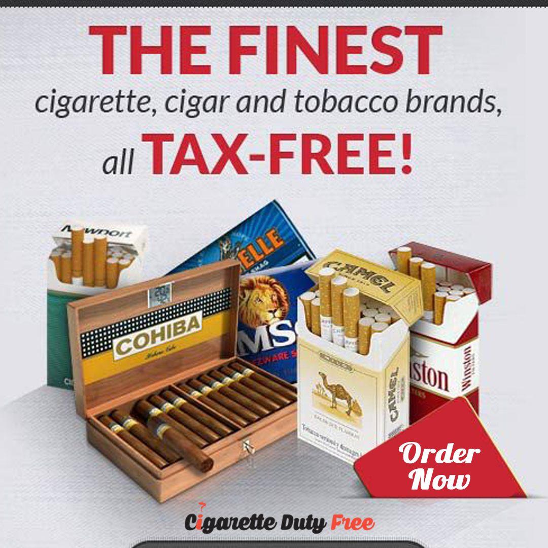 Pin on Cigarette Duty Free