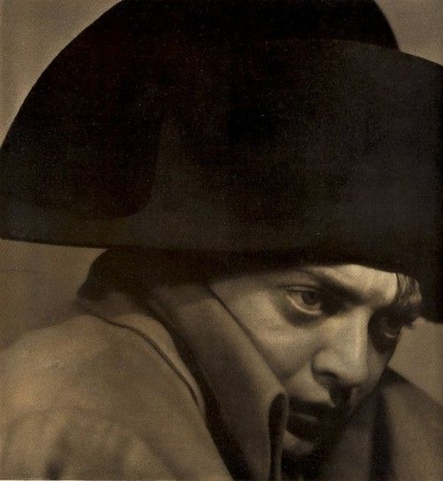 Peter Lorre as Napoleon, c.1935. Photograph by Maurice Goldberg.