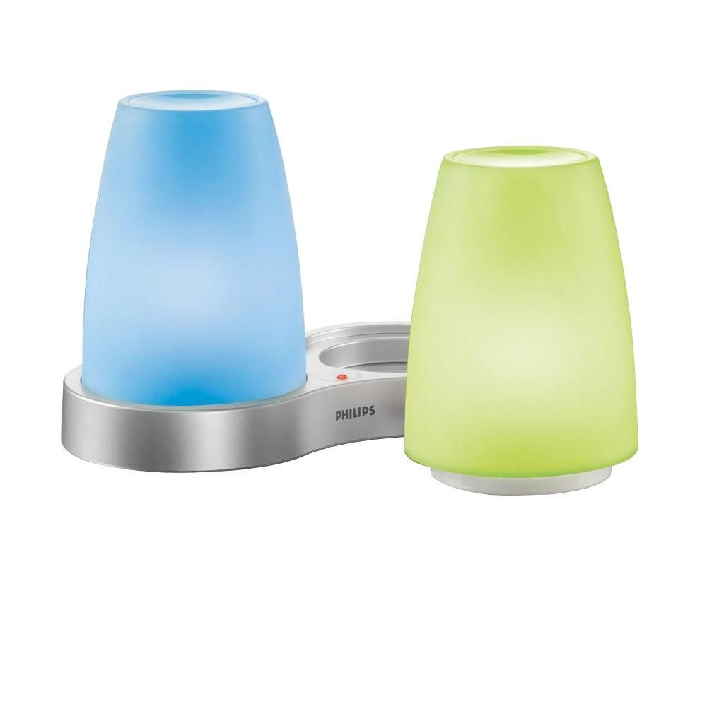 Philips Imageo Philips Imageo 5 3 8 In Candlelights Clear Color Led Table Lamp