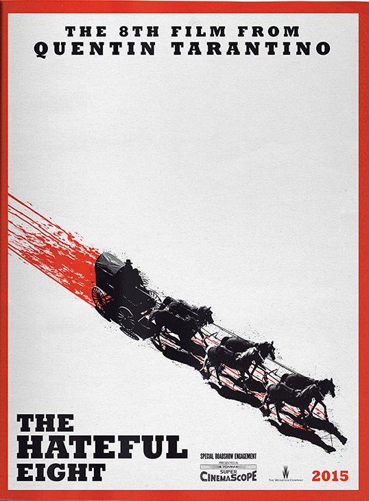 The Hateful Eight #film #Tarantino
