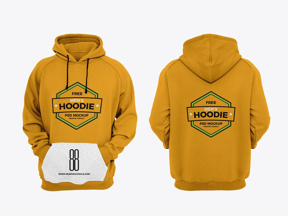 Download Hoodie Mockup Psd Free Desain