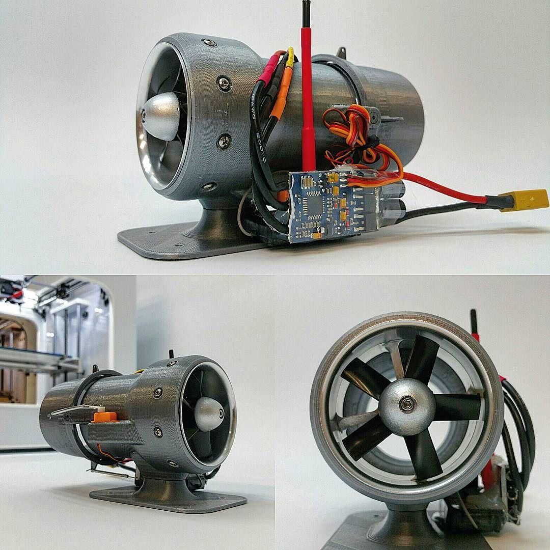 Latest Creation Edf Engine Housing With Gimbal Nozzle