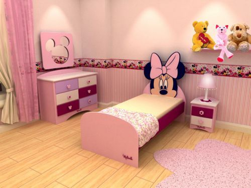 DORMITORIOS MINNIE MOUSE BEDROOMS | Minnie mouse toddler room ...