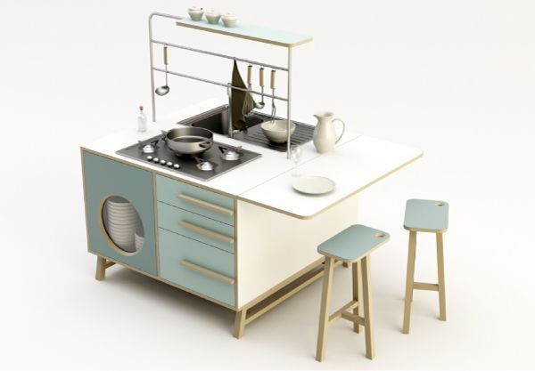 Una cucina da comporre come vuoi   Kitchen   Cucine, Home Decor e ...
