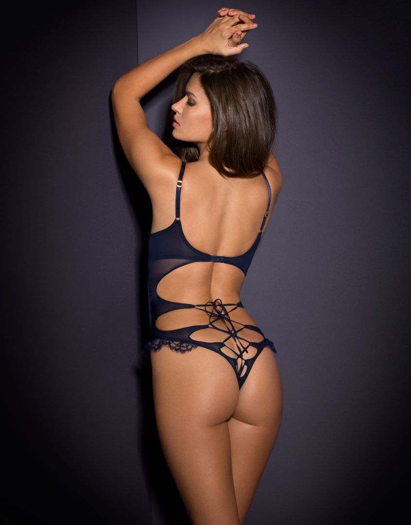 247046e91c Agent provocateur Anikka Playsuit Midnight Blue in Multicolor (midnight)