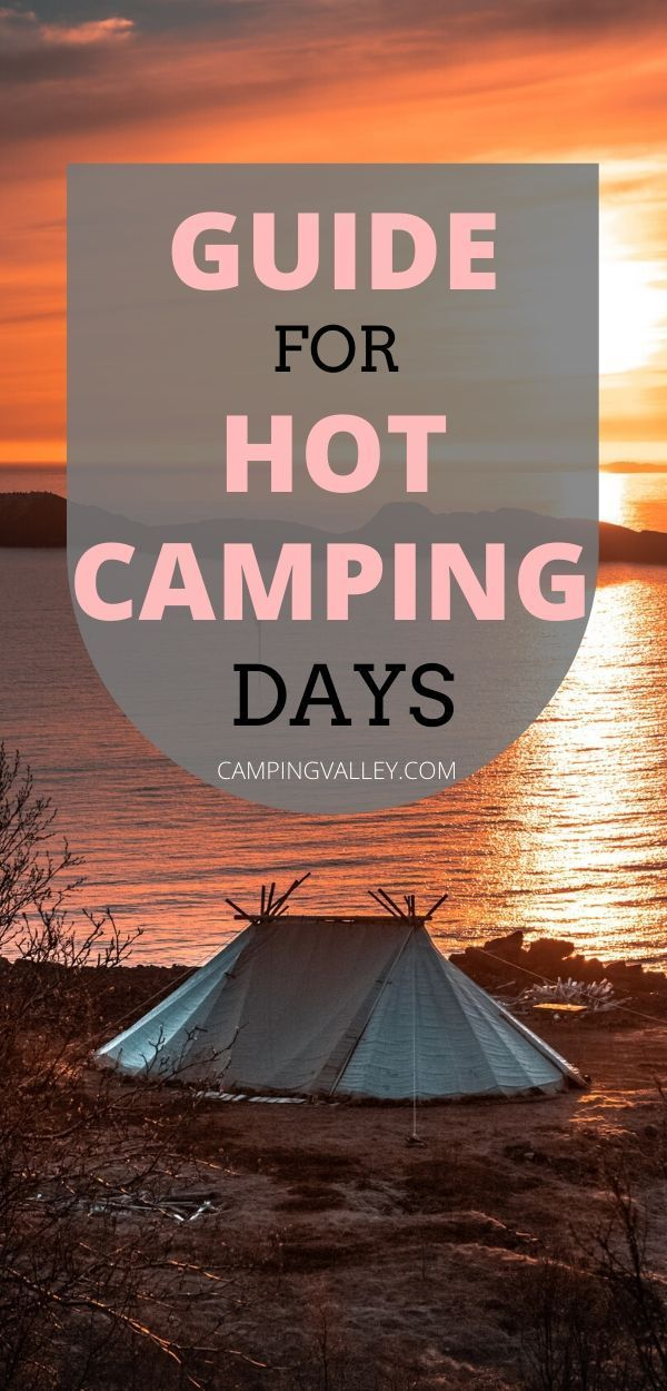How To Stay Cool While Camping In A Tent | Pop up camping ...