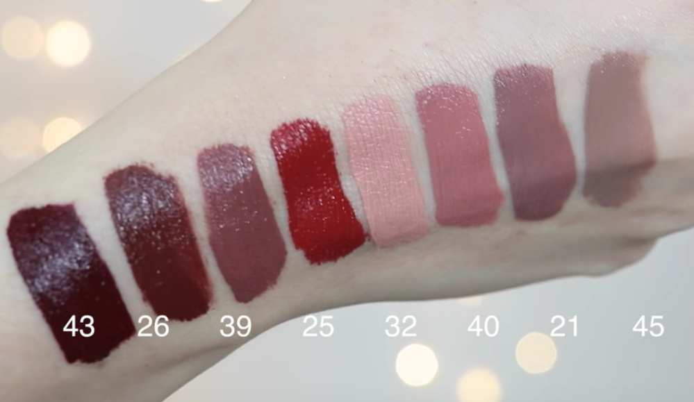 New colors of the sephora collection lip cream thingies