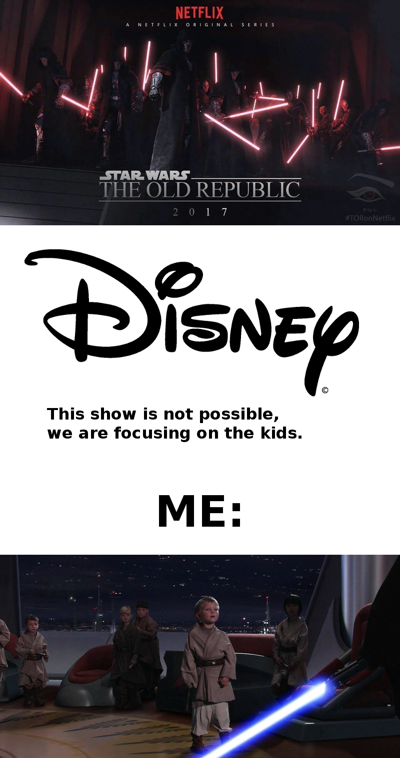 That Is Stupid It Is Not Just For The Kids It Is For All Ages People Say That The Clone Wars Were For Star Wars Memes Star Wars Jokes Star