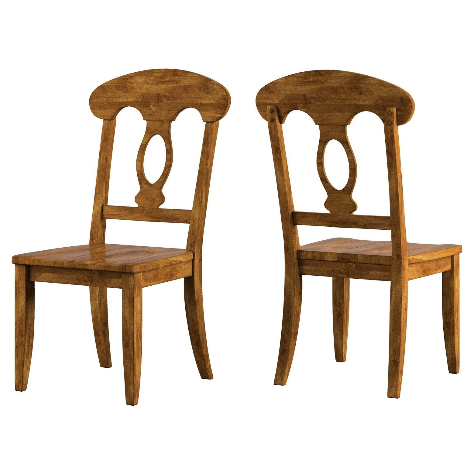 Inspire Q South Hill Napoleon Back Dining Chair 2 in Set
