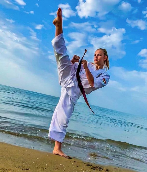 Pin on Female martial artists