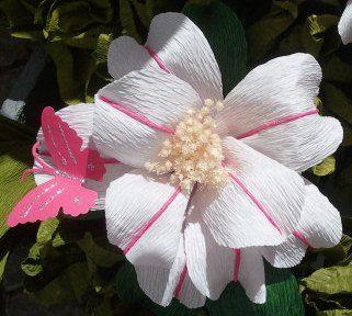 Flor feita de papel - Festas do Povo – Wikipédia, a enciclopédia livre