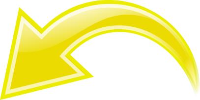 Arrow Curved Yellow Left Curved Arrow Arrow Symbols