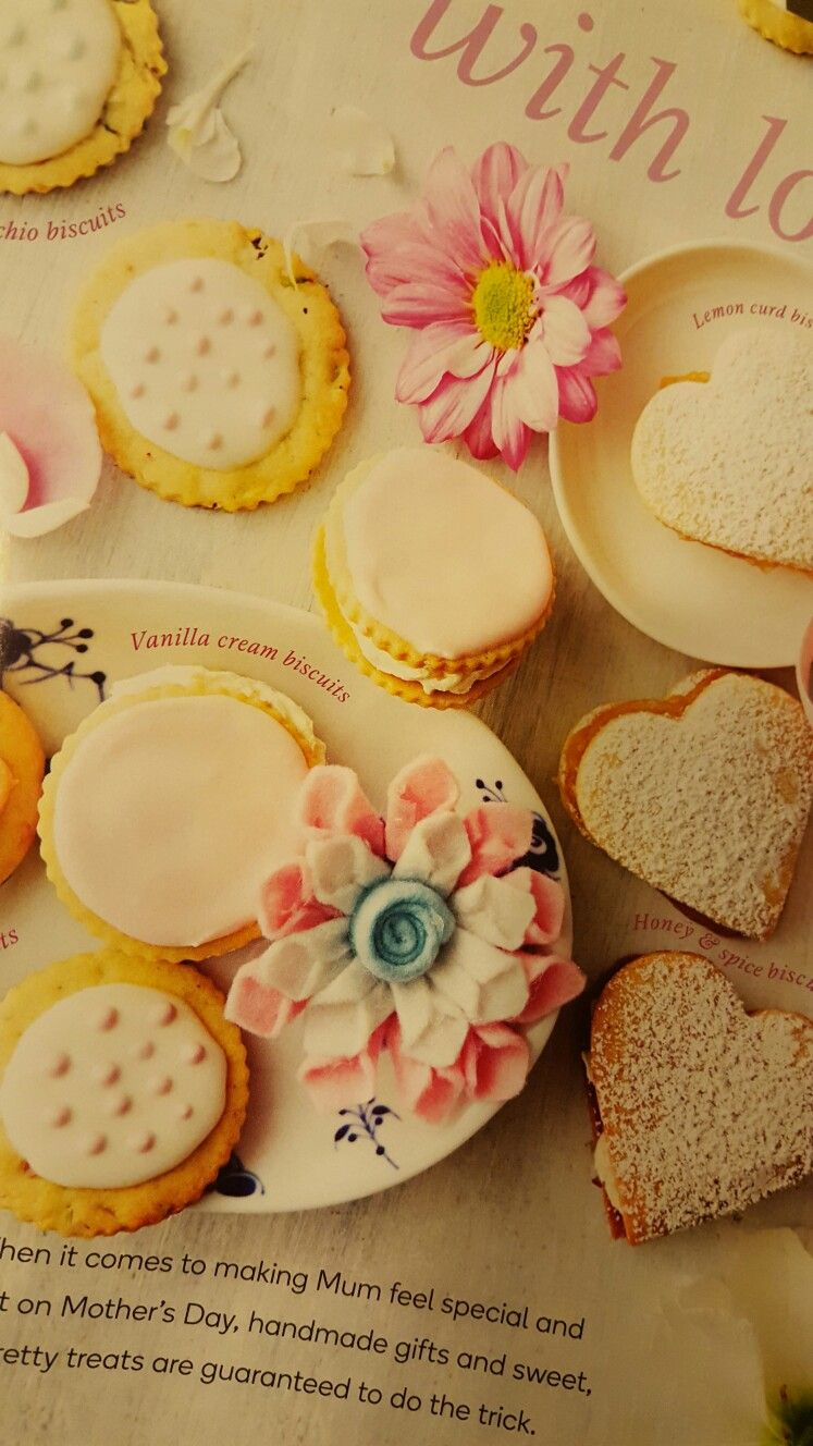 Pretty biscuits for a baby shower (Woolworths Fresh magazine - May 2016)
