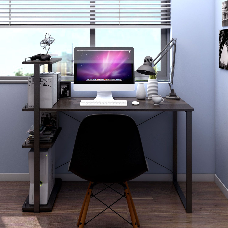 Computer Desk Pc Laptop Desk Large Study Table Modern Writing Table