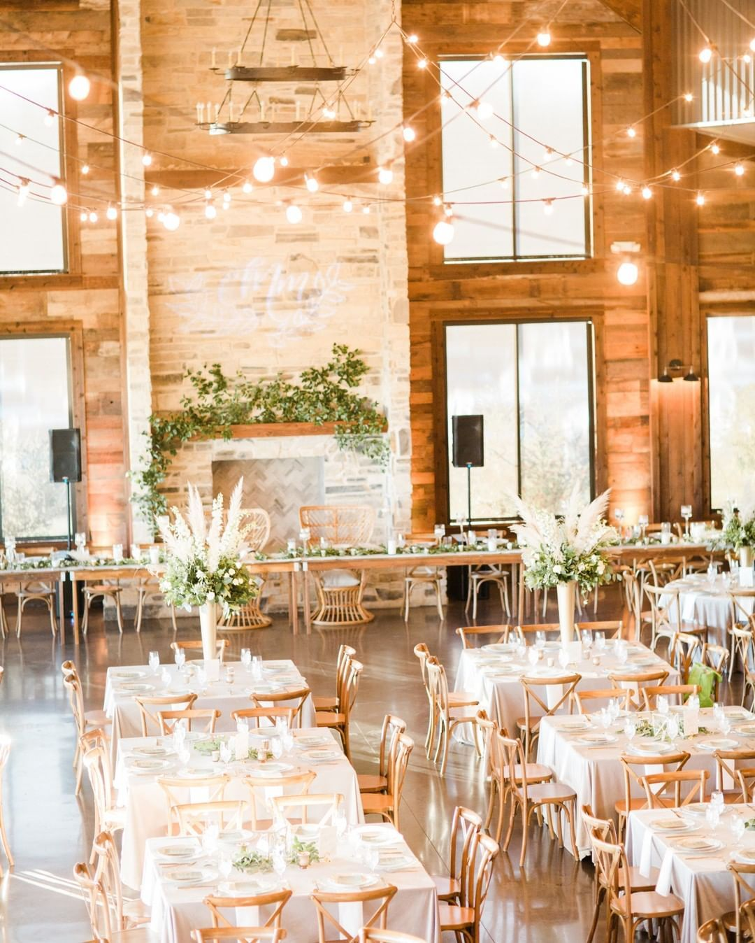 Farmhouse Dining Table Rentals for Your Dallas Wedding