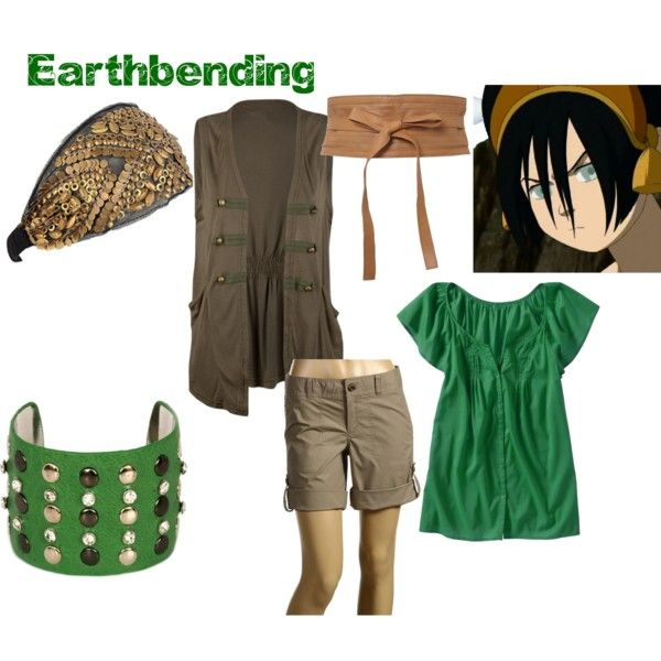 Earthbending Outfit Nerd Fashion Clothes Design Outfits Although, she can feel the vibrations of the earth with her hands to some degree, just not nearly as well as with her feet. earthbending outfit nerd fashion