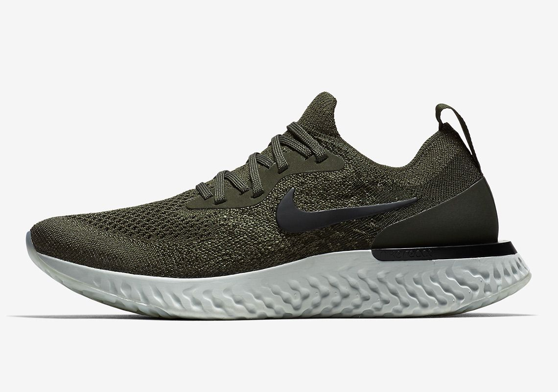 98e2501edc73 Nike Epic React Olive AQ0070-300 AQ0067-300  thatdope  sneakers  luxury   dope  fashion  trending