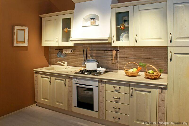 whitewashed kitchen cabinets pictures of kitchens. Black Bedroom Furniture Sets. Home Design Ideas
